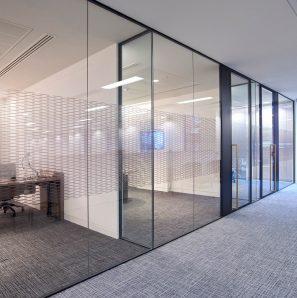 Optima Aluminium Framed Glazed Partition Systems