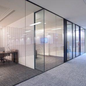Optima Aluminium Framed Glazed Partition Systems