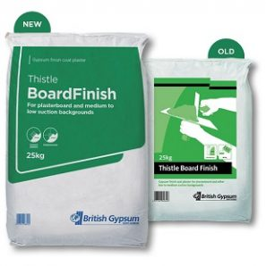 Thistle BoardFinish & Thistle Multifinish 25kg